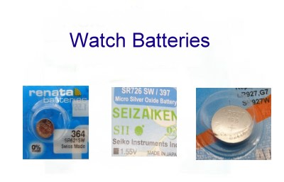 Watch Batteries