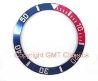 Blue + Red Bezel For Seiko 7S26-0040