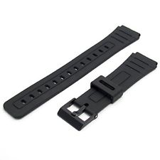 Aftermarket Strap For Casio F91 F105 W59 Watch